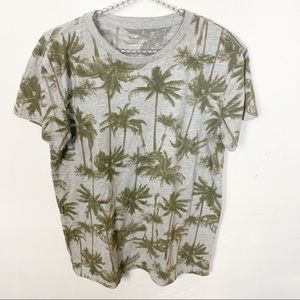 American Eagle l Seriously Soft Palm Tree T-shirt